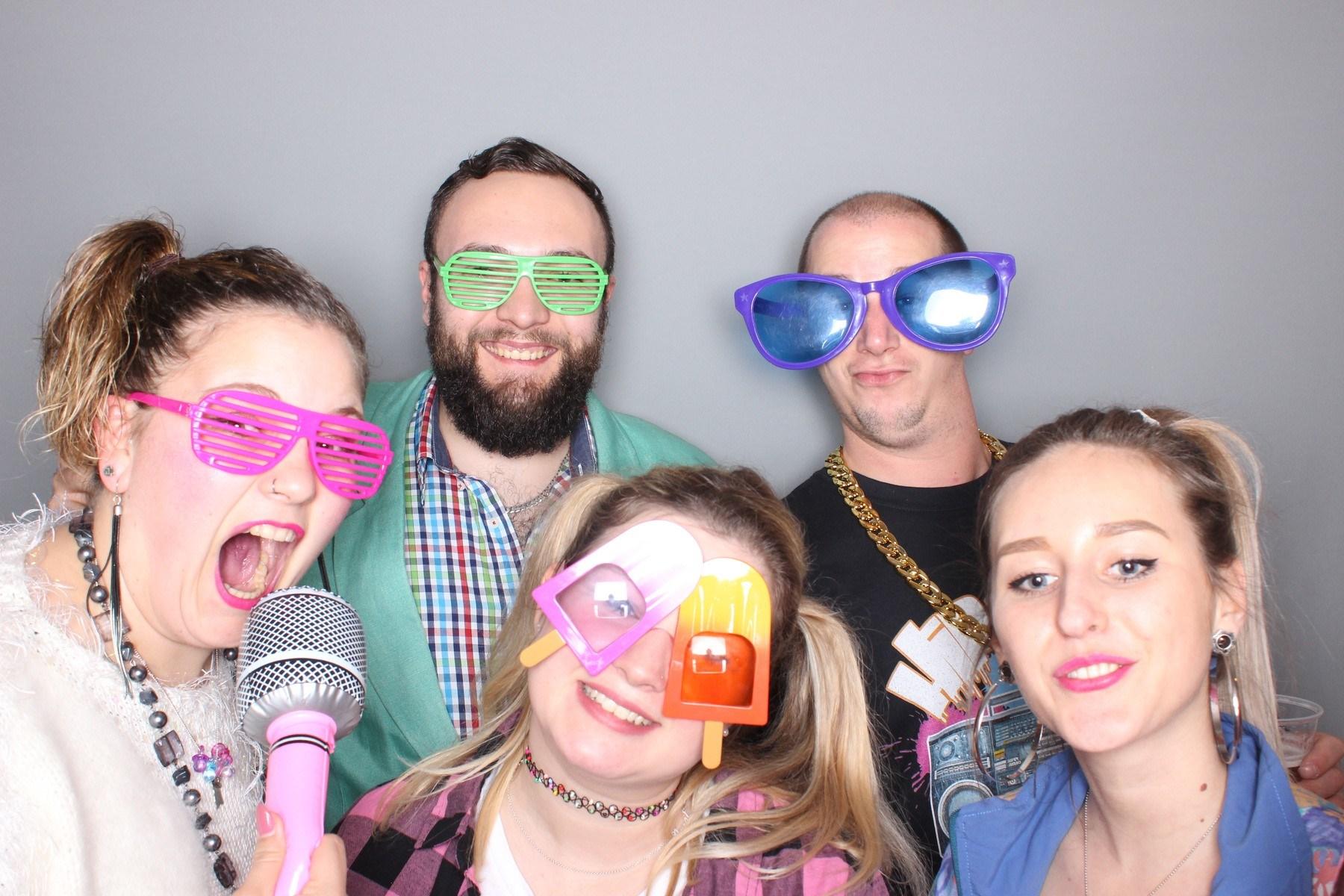 90er party fotobox celle